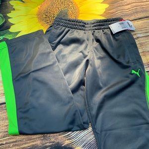 NEW Boys size s small 7/8 Puma gray pants